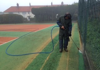 sports surface cleaning 2
